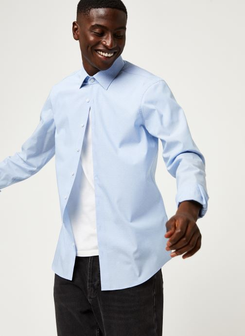 Vêtements Accessoires Dobby Stretch Slim Shirt