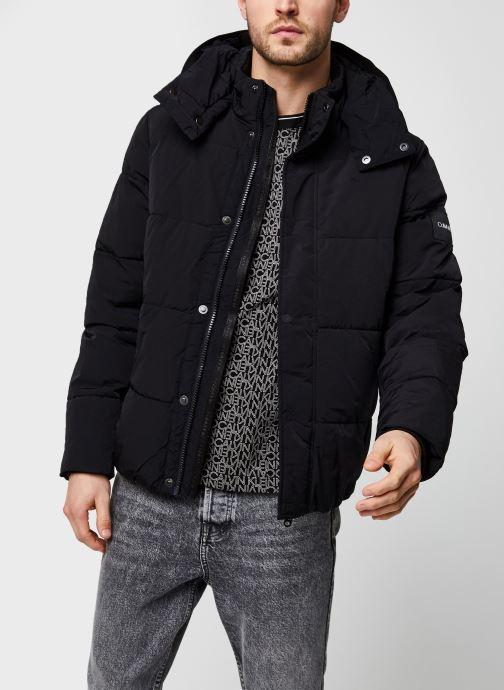 Crinkle Nylon Mid Length Jacket