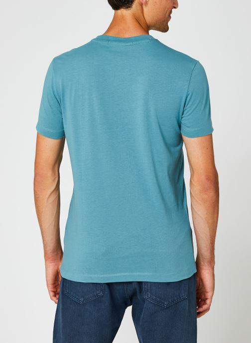 Kleding Calvin Klein Jeans Institutional Chest Logo Ss Tee Blauw model