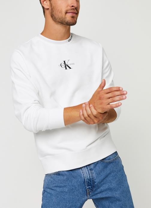 Center Monogram Crew Neck