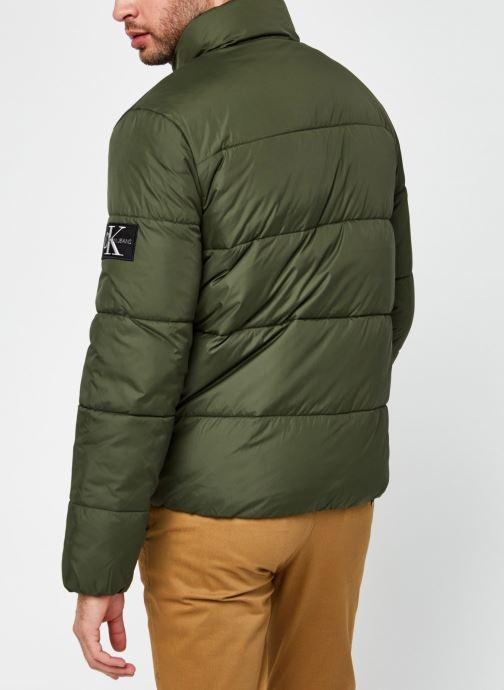 Kleding Calvin Klein Jeans Puffer Jacket Groen model