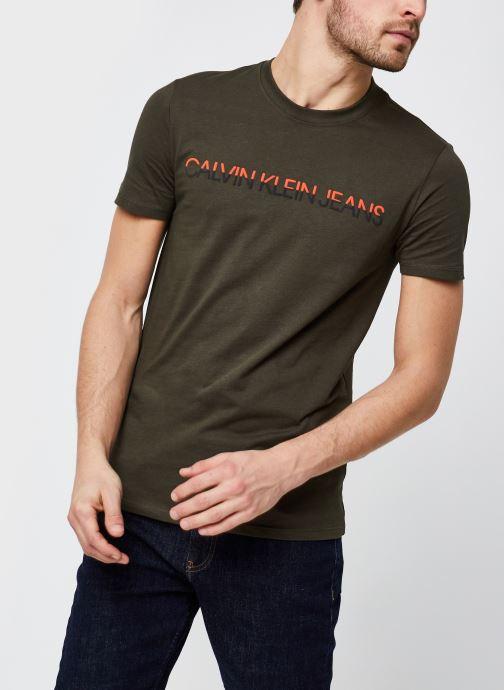 T-shirt - Mixed Technique Instit Logo Tee