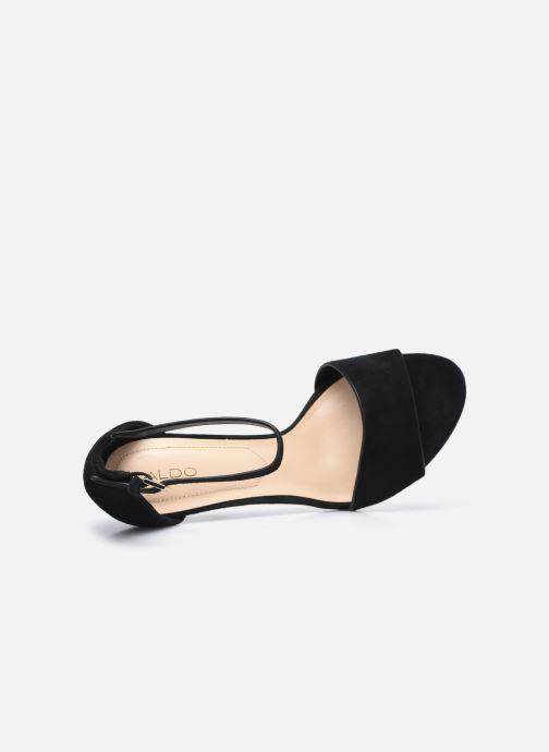 Sandales et nu-pieds Aldo FIOLLA Noir vue gauche