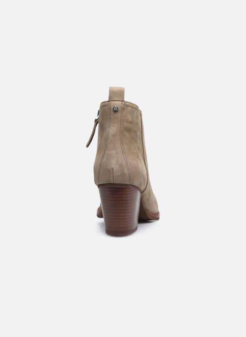 Bottines et boots Aldo WIGOLIA Beige vue droite