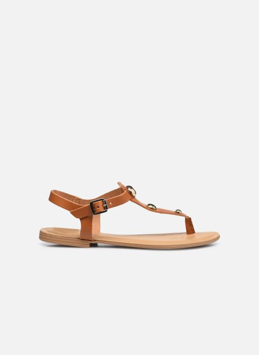 Sandales et nu-pieds Aldo BIANCHETTI Marron vue derrière