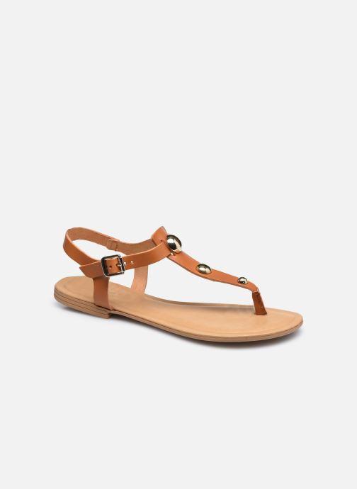 Sandales et nu-pieds Aldo BIANCHETTI Marron vue détail/paire