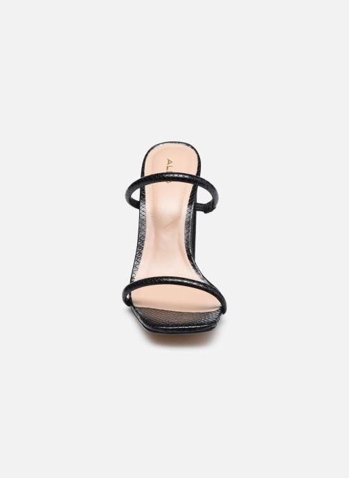 Sandalen Aldo AGAFIYAY schwarz schuhe getragen