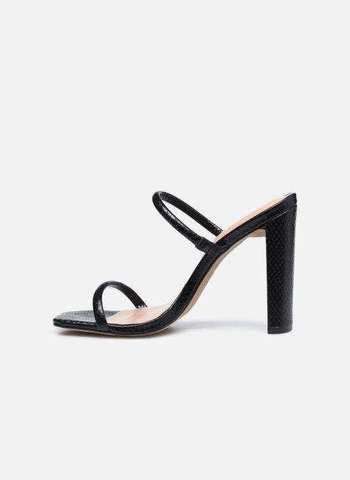 Sandales et nu-pieds Aldo AGAFIYAY Noir vue face