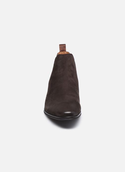Bottines et boots Aldo CURWEN Marron vue portées chaussures