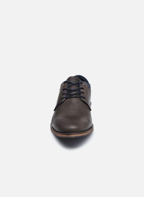 Chaussures à lacets Aldo GLYRWEN Marron vue portées chaussures