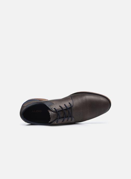 Chaussures à lacets Aldo GLYRWEN Marron vue gauche