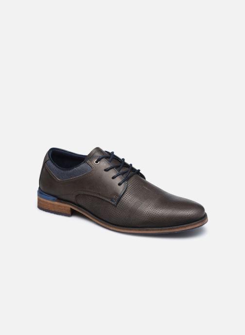 Chaussures à lacets Aldo GLYRWEN Marron vue détail/paire