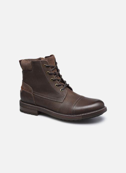 Bottines et boots Aldo ETHIWEN Marron vue détail/paire