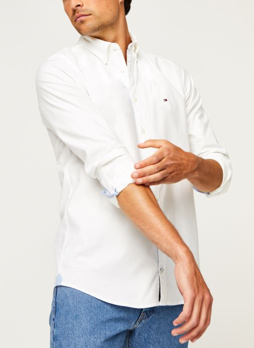 Kleding Tommy Hilfiger Core Stretch Slim Oxford Shirt Wit detail