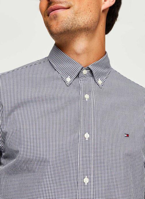 Kleding Tommy Hilfiger Core Check Shirt Blauw voorkant