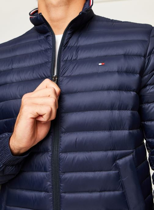 Vêtements Tommy Hilfiger Core Packable Down Jacket Bleu vue face
