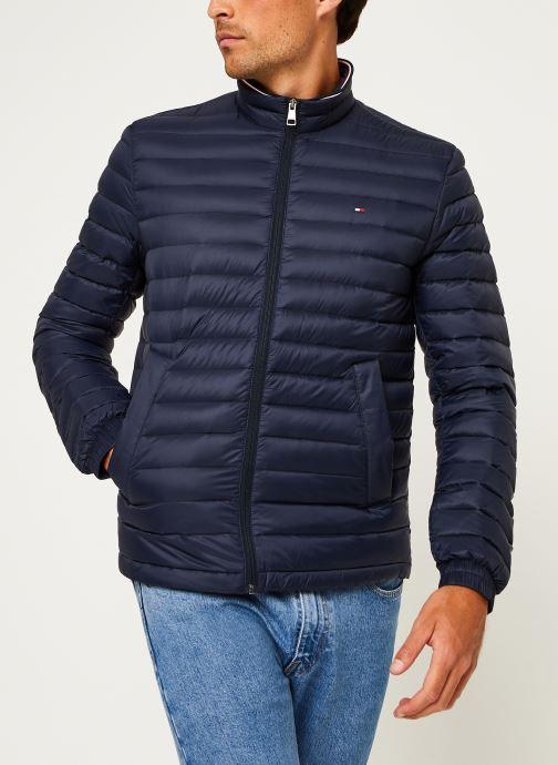 Vêtements Tommy Hilfiger Core Packable Down Jacket Bleu vue droite