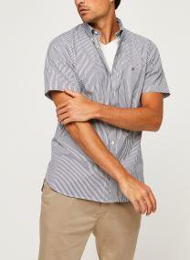Classic Twill Stripe Shirt S/S