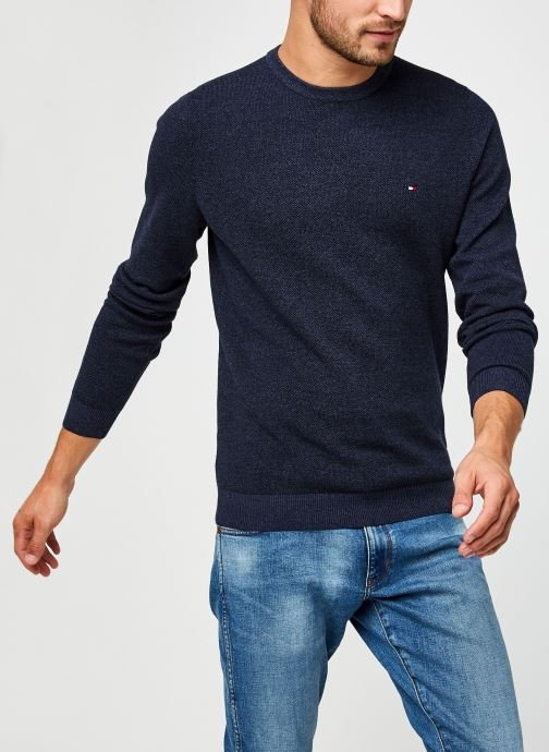 Pull - Mouline Structure Crew Neck