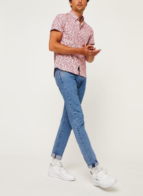 Kleding Tommy Hilfiger Slim Natural Soft Prt Shirt S/S Rood onder
