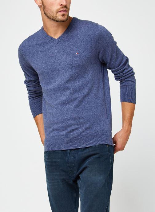 Vêtements Accessoires Pima Cotton Cashmere V Neck