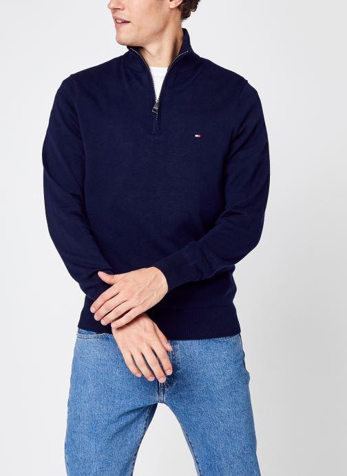 Kleding Accessoires Pima Cotton Cashmere Zip Mock