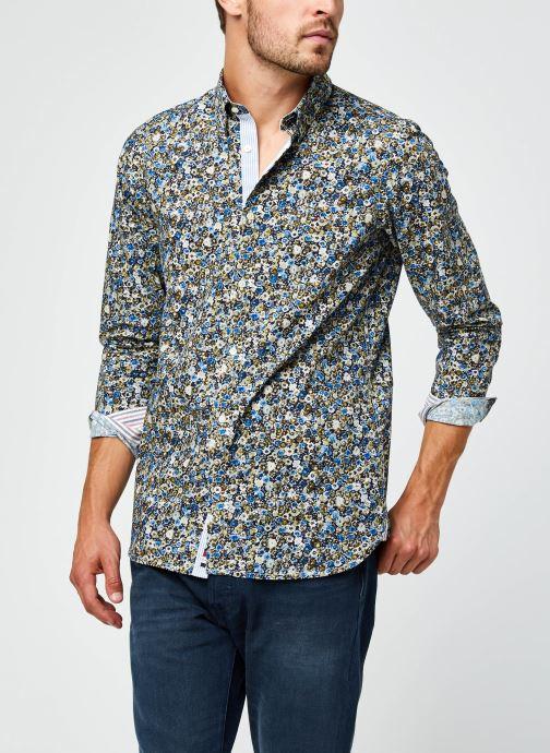 Vêtements Accessoires Slim Textured Floral Camo Shirt