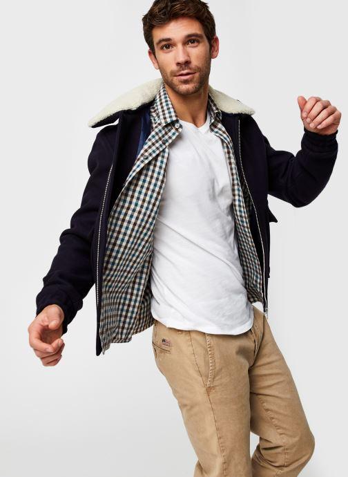 Kleding Accessoires Shearling Collar Flight Jacket