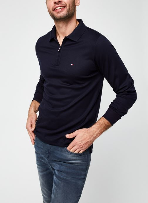 Polo manches longues - Zip Interlock Slim Ls Polo