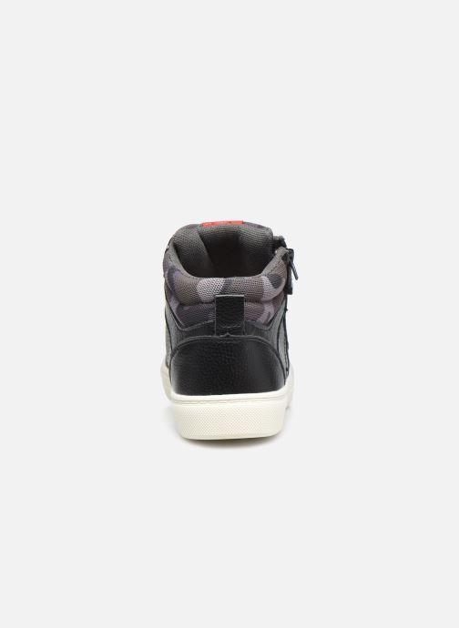 Deportivas I Love Shoes COMILI Negro vista lateral derecha