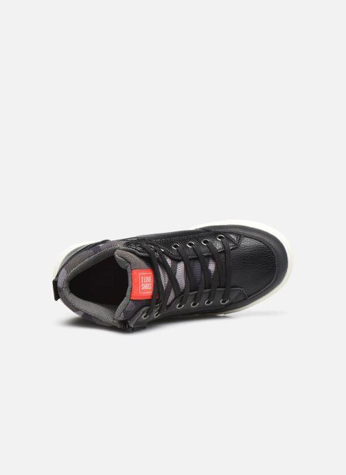 Deportivas I Love Shoes COMILI Negro vista lateral izquierda