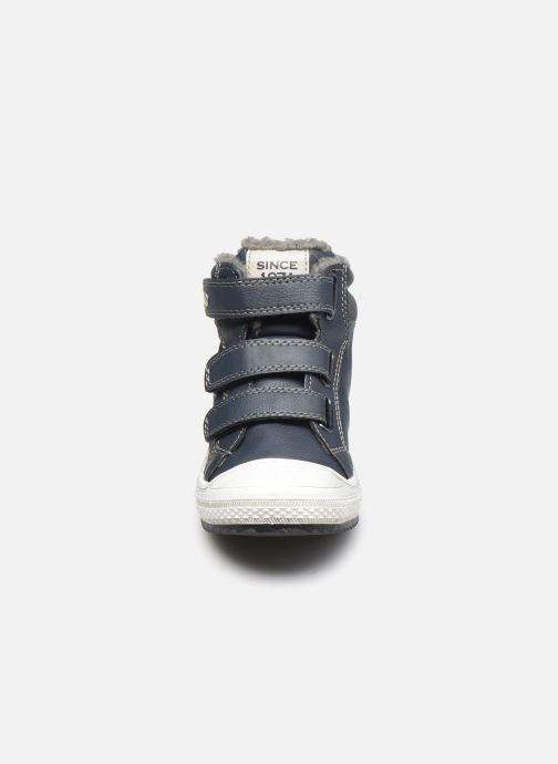 Baskets I Love Shoes COTIM Bleu vue portées chaussures