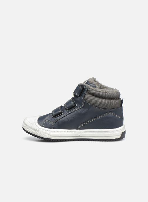Baskets I Love Shoes COTIM Bleu vue face