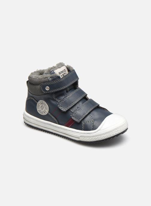Baskets I Love Shoes COTIM Bleu vue détail/paire
