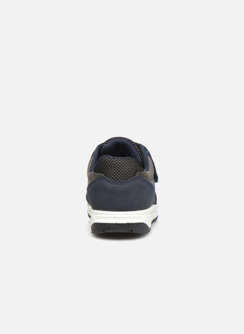 Deportivas I Love Shoes COLEO Azul vista lateral derecha