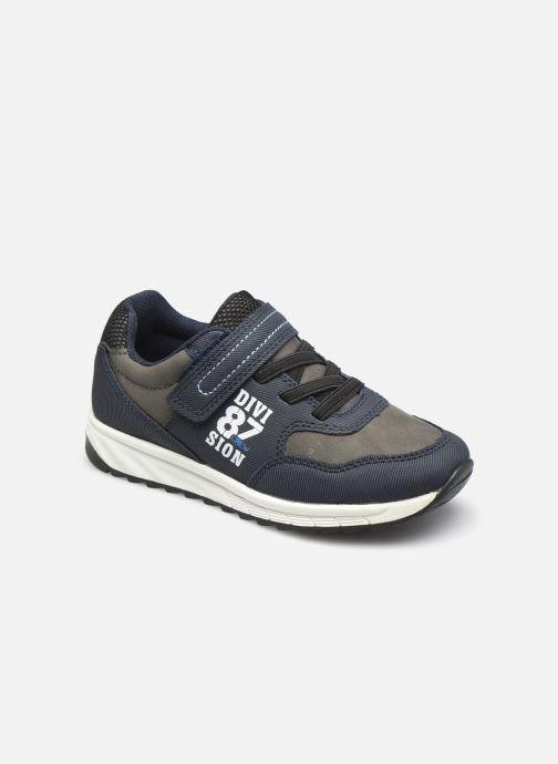 Baskets I Love Shoes COLEO Bleu vue détail/paire
