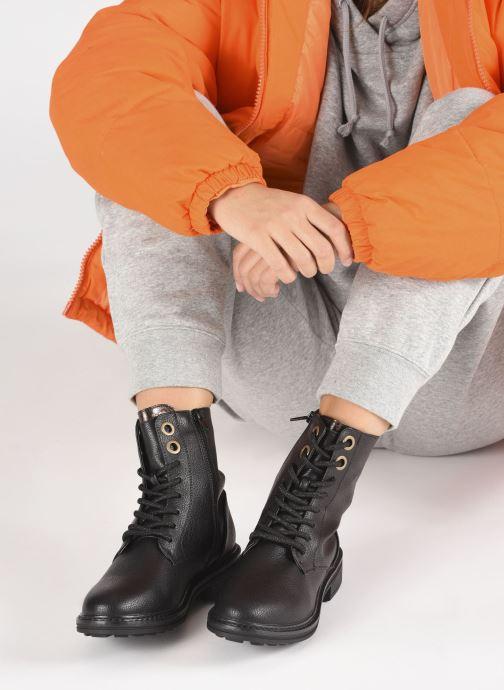 Bottines et boots I Love Shoes CORTO Noir vue bas / vue portée sac
