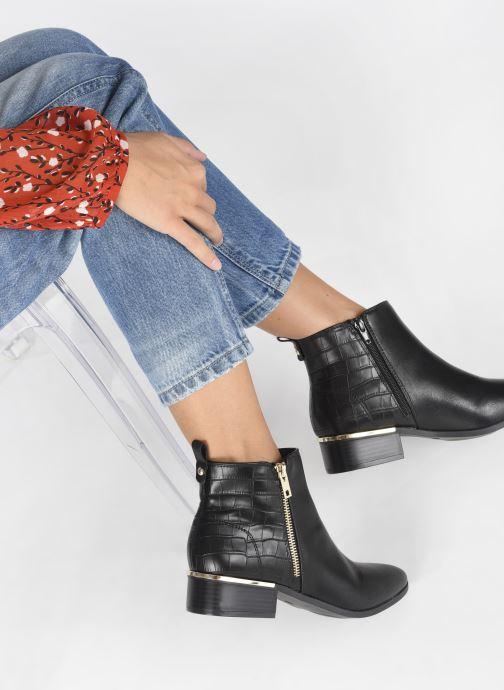 Bottines et boots I Love Shoes COBEST Noir vue bas / vue portée sac