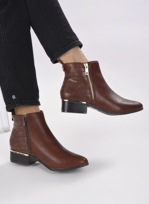 Stivaletti e tronchetti I Love Shoes COBEST Marrone immagine dal basso