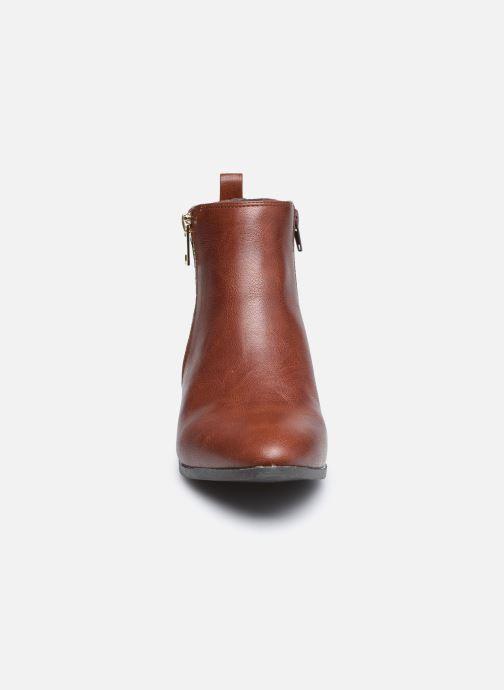 Stivaletti e tronchetti I Love Shoes COBEST Marrone modello indossato