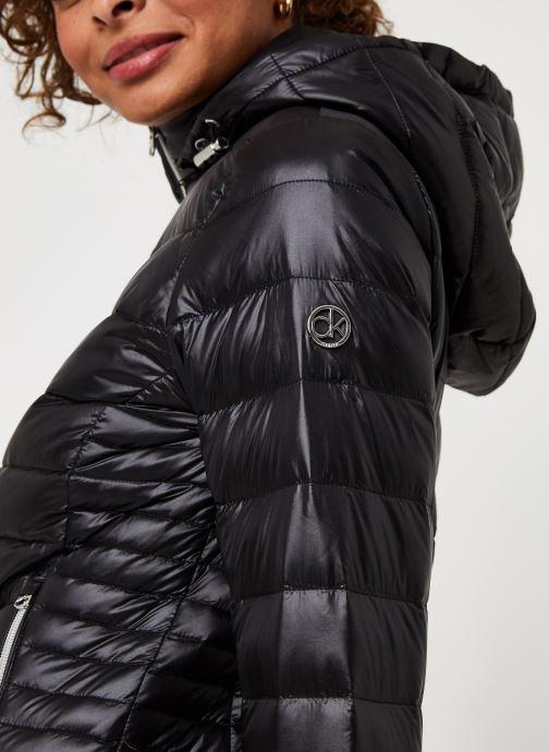 Vêtements Calvin Klein Essential Jacket Noir vue face