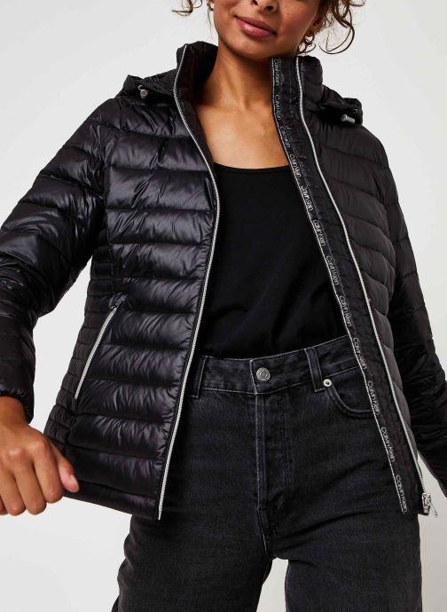 Vêtements Calvin Klein Essential Jacket Noir vue détail/paire