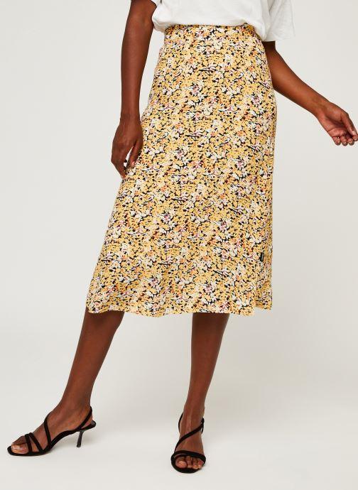 Kleding Accessoires Elastic Waist Midi Skirt