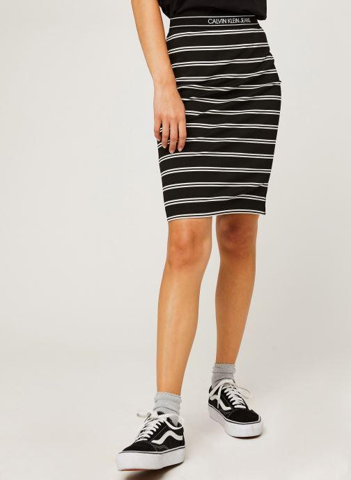 Kleding Accessoires Logo Elastic Stripe Milano Skirt