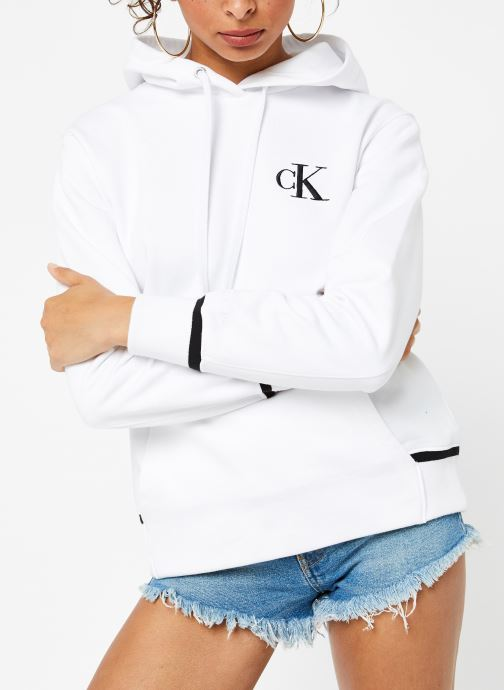Ck Embroidery Tipping Hoodie