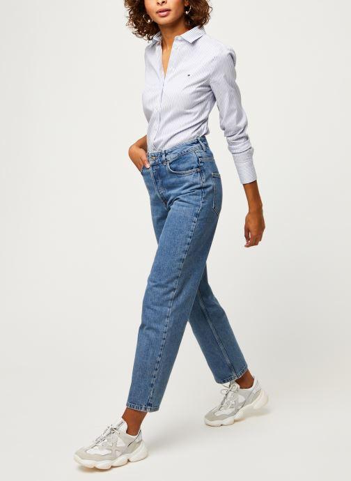 Vêtements Tommy Hilfiger Sally Shirt Ls W1 Bleu vue bas / vue portée sac