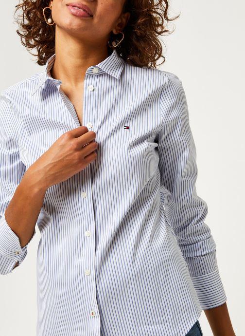 Vêtements Tommy Hilfiger Sally Shirt Ls W1 Bleu vue détail/paire
