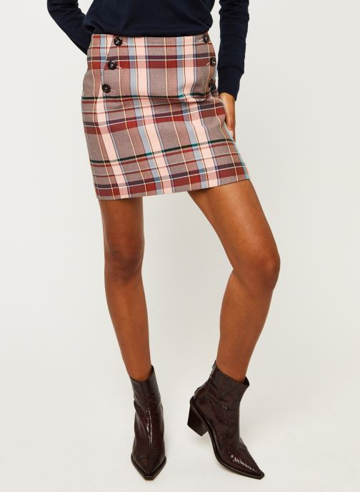 Jupe mini - Cotton Blend Check M