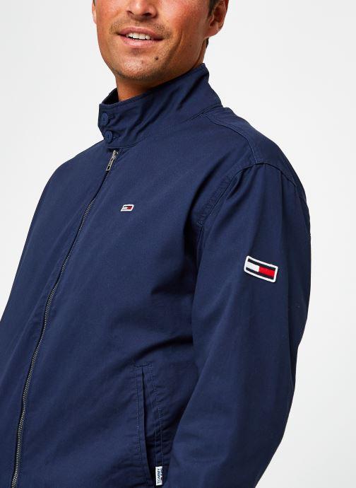 Vêtements Tommy Jeans TJM Cuffed Cotton Jacket Bleu vue face