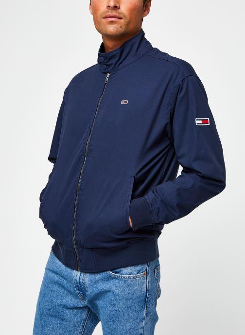 Vêtements Tommy Jeans TJM Cuffed Cotton Jacket Bleu vue droite